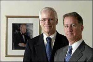 Wayne A. Brotherton, Co-Trustee (left) William P. Brotherton, Co-Trustee (right) Photo by Steve Hockstein/Harvard Studio